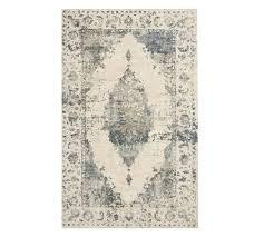 aleah printed rug 5 x 8 blue multi