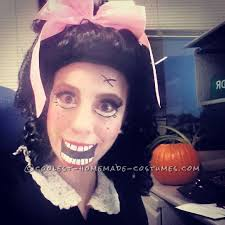 cool porcelain doll makeup and costume