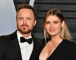 Celebrity & Entertainment   Aaron Paul and Lauren Parsekian Make Their  First Red Carpet Appearance as Parents   POPSUGAR Celebrity Photo 8