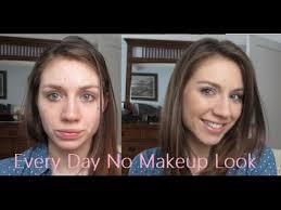 everyday no makeup look tutorial ft