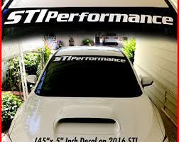 Subie Logo Vinyl Sticker Car Windows Decal Wrx Impreza Rally Forester Rc049
