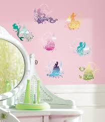 Disney Princess Silhouette Peel Stick Wall Decals Wall Decal Allposters Com