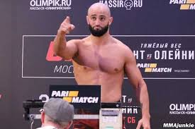 UFC Middleweight Adam Yandiev Is Forced To Withdraw From Fight Against  Punahele Soriano At UFC 242