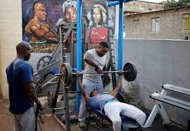 aims to lift poor with township gyms