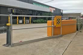 Ball Fence Roller Gate For Tight Spots Barrier Group
