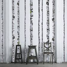 Birch Tree Wall Decals 9 Ft Tall Quantity Of 5 Etsy
