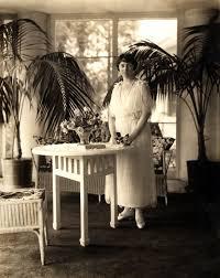 Katharine Smith Reynolds on Sun Porch | Reynolda House Museum of ...