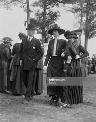 Miss Hilda Holmes and Miss Ethel Carhart. News Photo - Getty Images