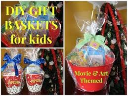 diy art themed gift baskets for