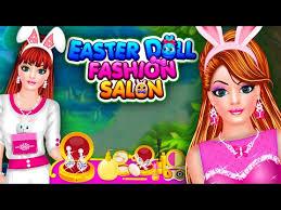 doll fashion salon makeup dress up game