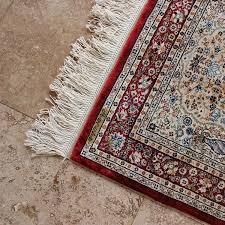 tribal rug off white turkish silk rug