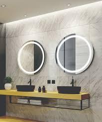 silhouette lighted mirror tv
