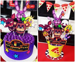 Fnaf Five Nights At Freddy S Birthday Party Ideas Fiesta