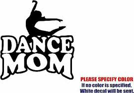 Vinyl Decal Sticker Dance Mom 03 Car Car Truck Bumper Window Sports Fun 6 Ebay