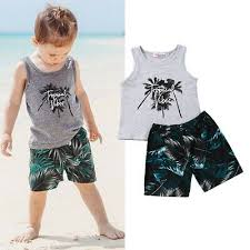 summer beach clothes coconut tree tops