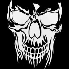 Mad Max Fury Road Skull Vinyl Decal Sticker