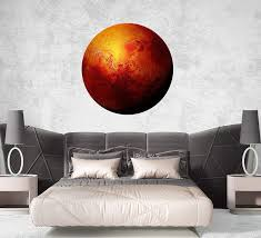 Amazon Com Planets Galaxy 3d Wall Decal Space Wall Stickers Cosmos Full Color Mural Planets Wall Decor Space Nursery Bedroom Ps90 Handmade