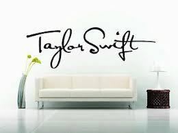Wall Sticker Decal Vinyl Decor Swift Sign Woman Singer Super Star Pop Art Symbol Ebay
