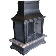 bond sevilla steel wood fireplace