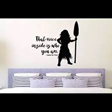 Inspired By Moana Maui That Voice Inside Is Who You Are Gramma Tala Wall Decal Sticker Inspired By Moana Maui Luck Wall Decal Sticker Girl Decals Disney Rooms