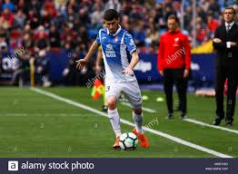 Aaron Martin of Espanyol during the Santander League (La Liga ...
