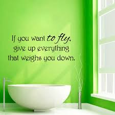 Shop If You Want To Fly Quote Sticker Vinyl Wall Art Overstock 10017149