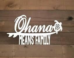 Ohana Sign Hawaiian Decor Ohana Means Family Metal Word Art Family Ohana Sign Hawaii Art Tropical Decor Family Wall Hawaiian Decor Family Wall Art Metal Words