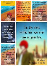 catcher in the rye quote posters quote posters book quotes