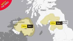 UK weather forecast: Severe warnings ...