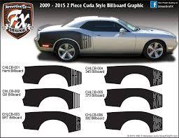 Dodge Challenger Graphics Stripes Decals Streetgrafx