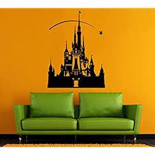 Disney Castle Wall Vinyl Decal Castle Wall Vinyl Sticker Disneyland Wall Decals Wall Vinyl Decor 7dxz Amazon Com