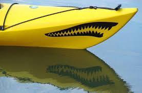 Kanuyak Canoe And Kayak Decals Stickers Tribal Wildlife