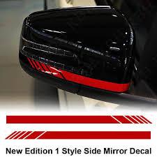 Product Mirror Stripe Decal Sticker For Mercedes Benz X156 X204 W221 W246 Edition 1 Amg