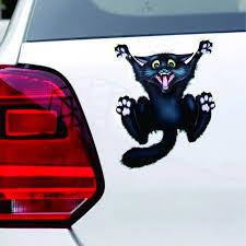 Halloween Car Wall Home Black Cat Sticker Mural Decor Decal Removable Terror Autosticker Halloween Black Cat Car Decal Aliexpress