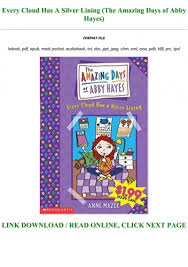 Free Download**] Every Cloud Has A Silver Lining (The Amazing Days of Abby  Hayes) Full Pages
