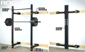 fold away squat rack amstaff tp019w