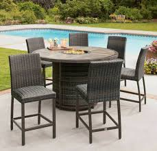 small wicker patio table and chairs