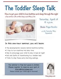 Squamish parents: Register at... - Hilary Cole Pediatric Sleep Consulting |  Facebook