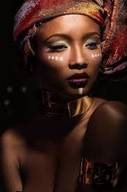 Faces by Myrna Rogers | African makeup, Tribal makeup, African beauty