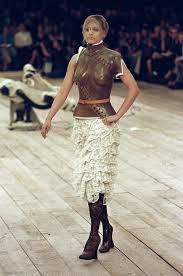 Alexander McQueen's Carved Prosthetic Leg | AnOther