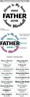 Father Custom Memorial Die Cut Vinyl Car Decal Designer Series Decals In Loving Memory Car Window Decals