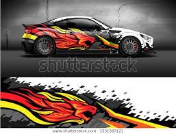 Car Wrap Decal Design Lion Head Stock Vector Royalty Free 1531267121