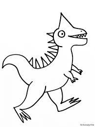 Kleurplaten Dinosaurussen Crea Met Kids
