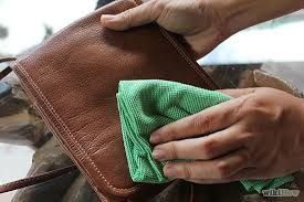 how to remove ink stains from leather purse