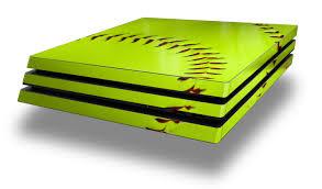 Wraptorskinz Ps4 Pro Skin Wrap Softball Decal Style Skin Fits Sony Playstation 4 Pro Console Walmart Com Walmart Com