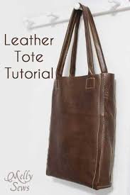 10 free leather bag patterns love to sew