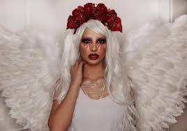 easy angel makeup ideas for halloween