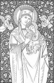 Coloring Page Our Lady Of Perpetual Help Kleurplaten