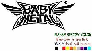 Babymetal Metal Kawaii Metal Decal Sticker Jdm Funny Vinyl Car Truck Window 12 Ebay