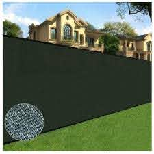 Boen 10 Ft X 150 Ft Black Privacy Fence Screen Netting Mesh With Reinforced Eyelets For Chain Link Garden Fence Pn 30013 The Home Depot